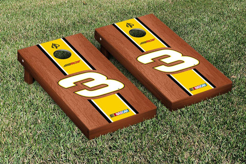 NASCAR Cheerios Rosewood Striped Version Cornhole Game Set by Victory Tailgate