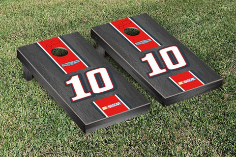 NASCAR Onyx Striped Tax Act Version Cornhole Game Set by Victory Tailgate