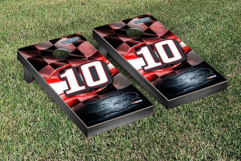 NASCAR Racing Flag Tax Act Version Cornhole Game Set by Victory Tailgate