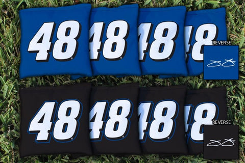 NASCAR #48 Jimmie Johnson Corn Hole Bags - All Weather