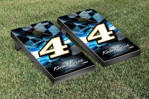 NASCAR Busch Night Lights Version Cornhole Game Set by Victory Tailgate