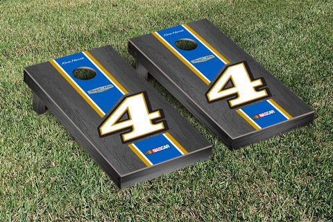 NASCAR Busch Onyx Stained Version Cornhole Game Set by Victory Tailgate