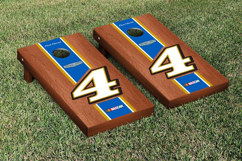 NASCAR Busch Rosewood Stained Version Cornhole Game Set by Victory Tailgate
