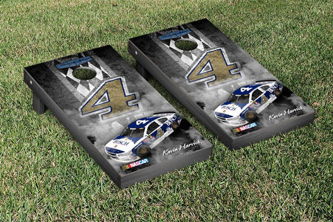 NASCAR Busch Darlington Pit Row Version Cornhole Game Set by Victory Tailgate