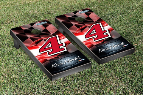 NASCAR Night Lights Jimmy Johns Version Cornhole Game Set by Victory Tailgate