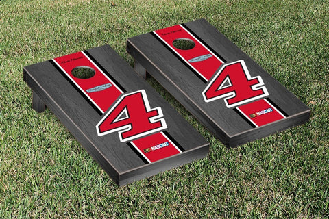 NASCAR Onyx Striped Jimmy Johns Version Cornhole Game Set by Victory Tailgate