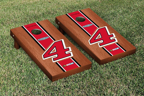 NASCAR Rossewood Striped Jimmy Johns Version Cornhole Game Set by Victory Tailgate