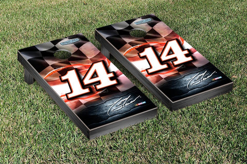 NASCAR Racing Flag Version Cornhole Game Set by Victory Tailgate