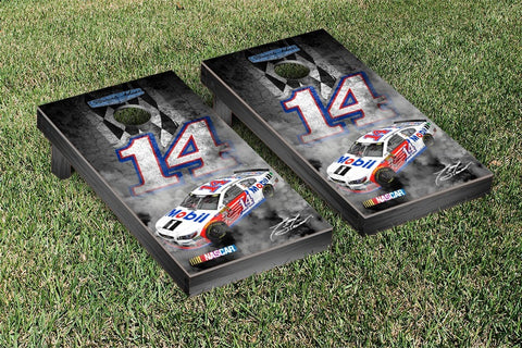 NASCAR Pit Row Mobil Version Cornhole Game Set by Victory Tailgate