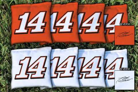 NASCAR #14 Tony Stewart Corn Hole Bags - All Weather