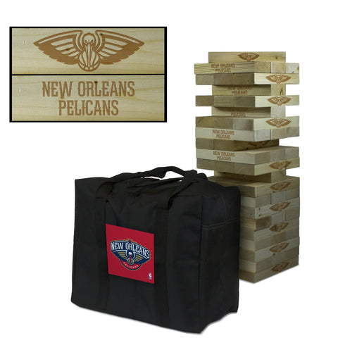 The New Orleans Pelicans Giant Jenga Tumble Tower Game