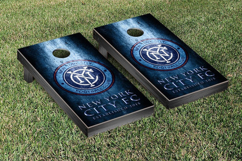 New York City FC Metal Version Cornhole Game Set by Victory Tailgate