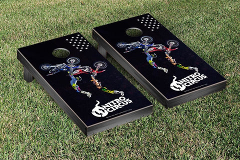 Nitro Circus Back-Flip Version Cornhole Boards by Victory Tailgate