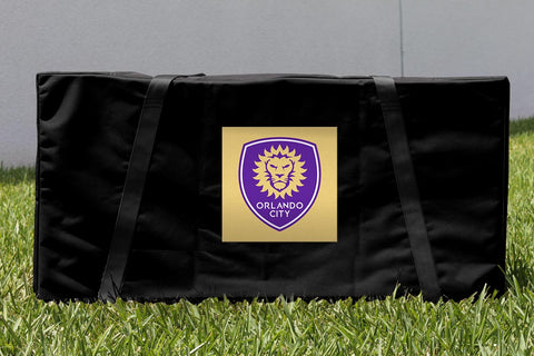 Orlando City Lions Cornhole Carrying Case Victory Tailgate 26026