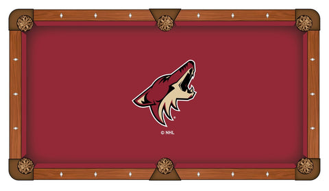 9' Arizona Coyotes Pool Table Cloth by Covers by HBS