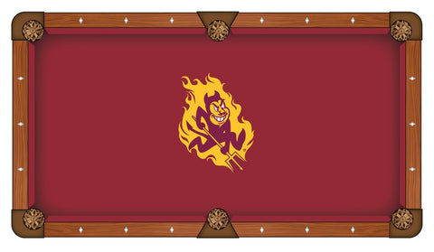 9' Arizona State Pool Table Cloth by Covers by HBS