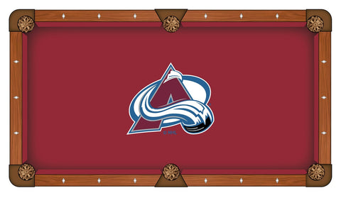 9' Colorado Avalanche Pool Table Cloth by Covers by HBS