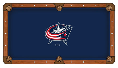 9' Columbus Blue Jackets Pool Table Cloth by Covers by HBS