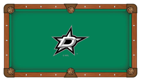 9' Dallas Stars Pool Table Cloth by Covers by HBS