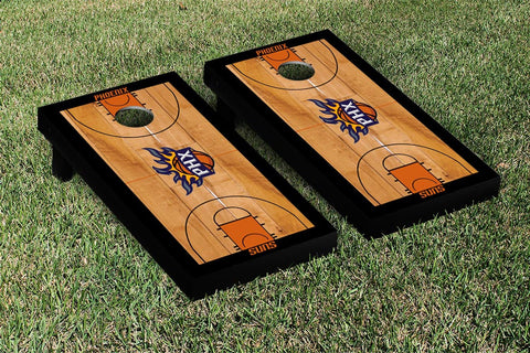 Phoenix Suns Cornhole Game Set Basketball Court Version - Victory Tailgate 28872