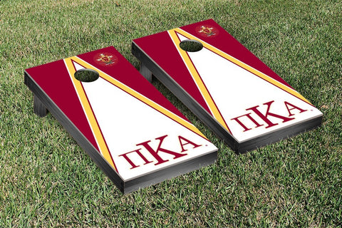 Pi Kappa Alpha Triangle Cornhole Game Set - Victory Tailgate 31542