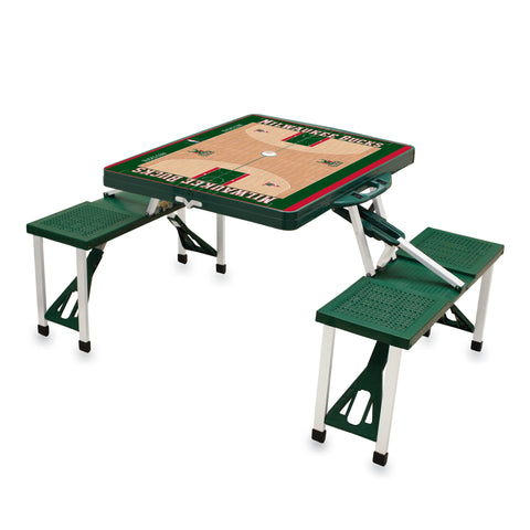Picnic Table Sport - Milwaukee Bucks
