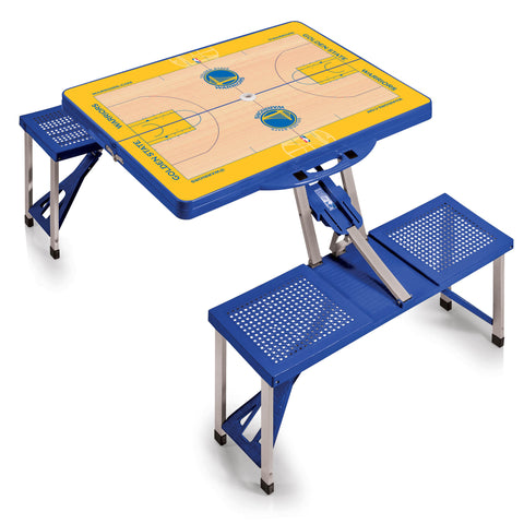 Golden State Warriors Picnic Table Sport by Picnic Time