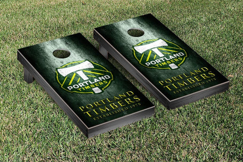 Portland Timbers Metal Version Cornhole Game Set by Victory Tailgate