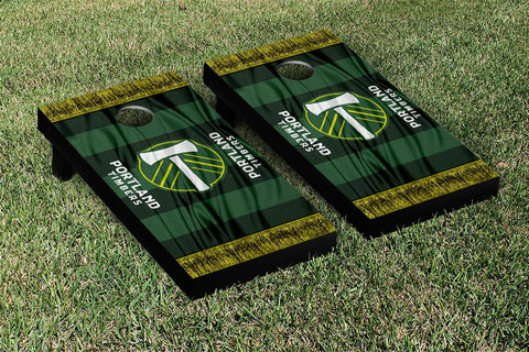 Portland Timbers MLS Soccer Scarf Version Cornhole Game Set by Victory Tailgate