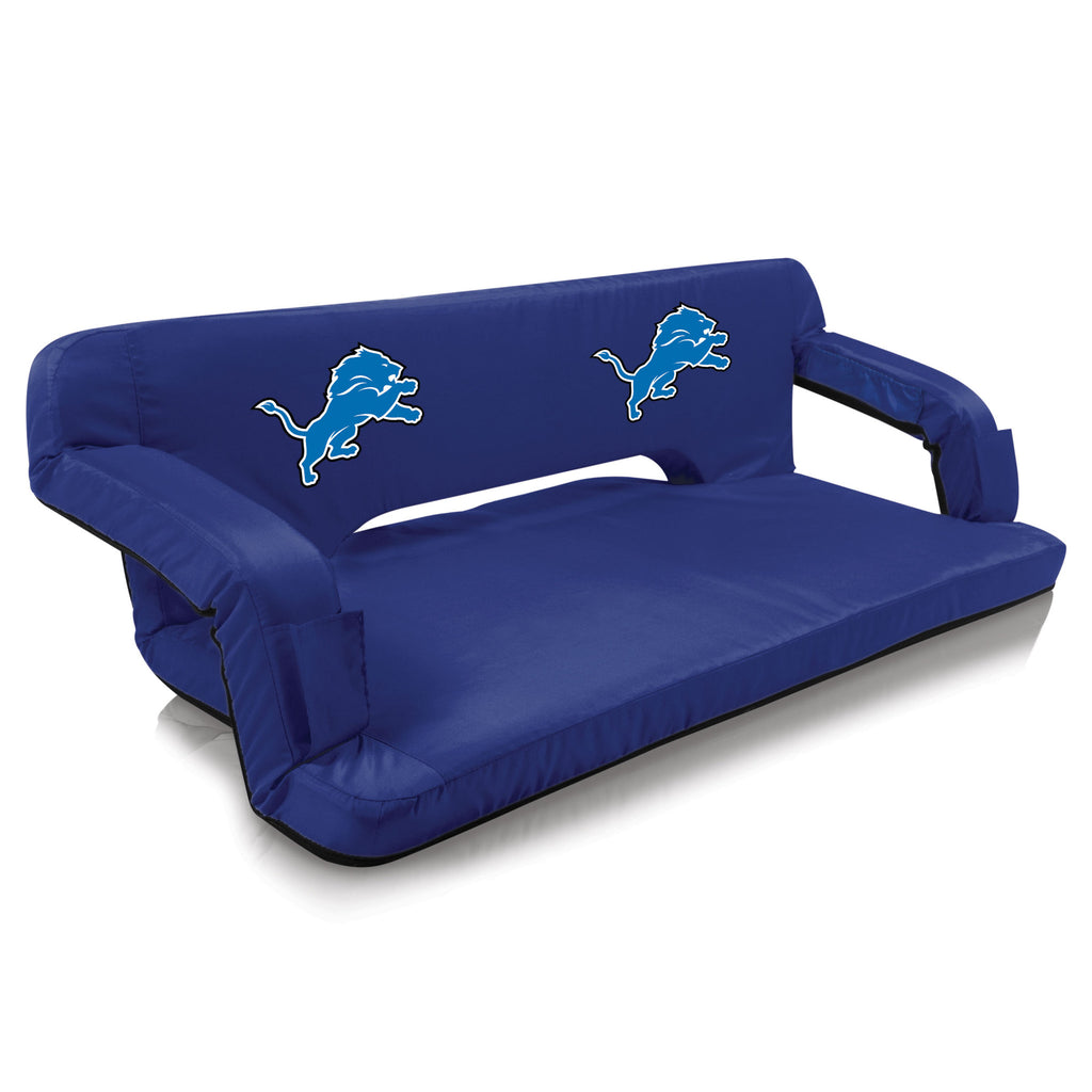 Detroit Lions Reflex Portable Travel Couch by Picnic Time