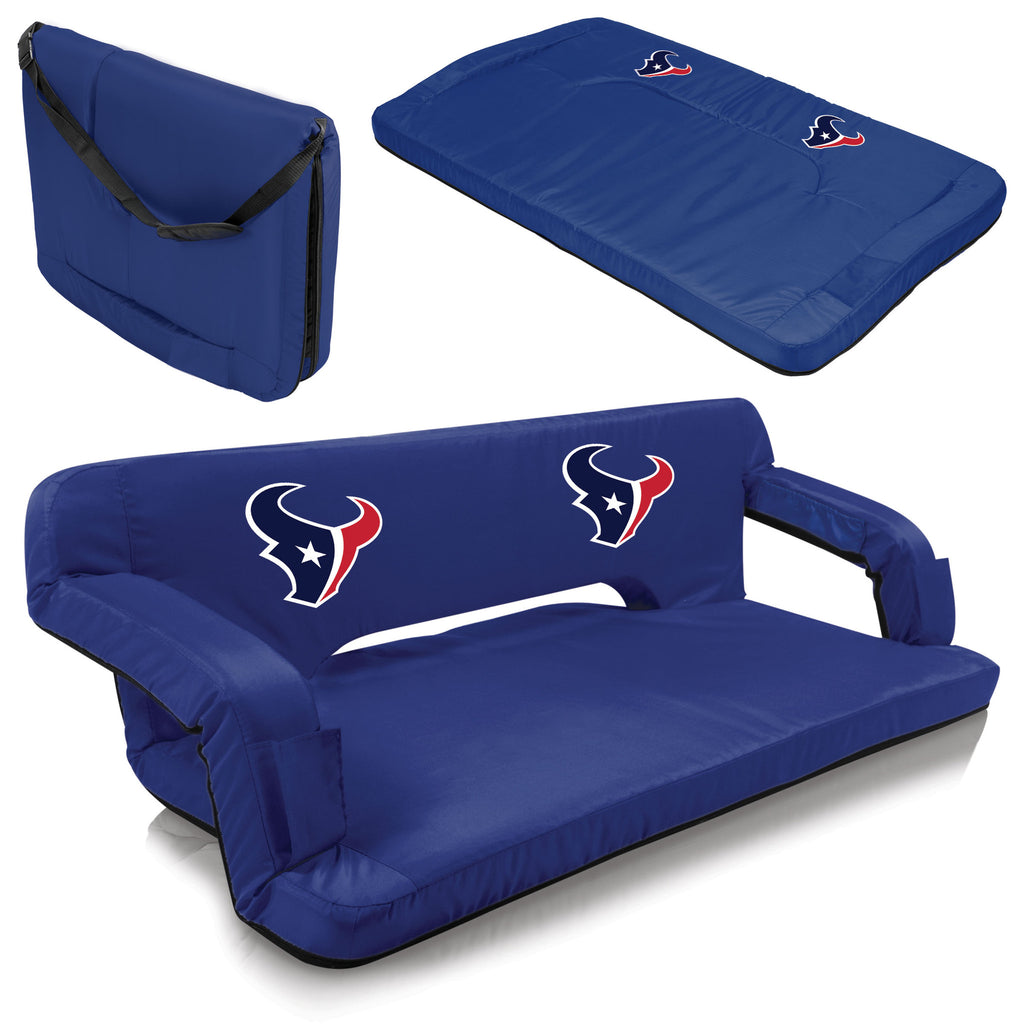 Houston Portable Couch - Picnic Times Texans Reflex Tailgate