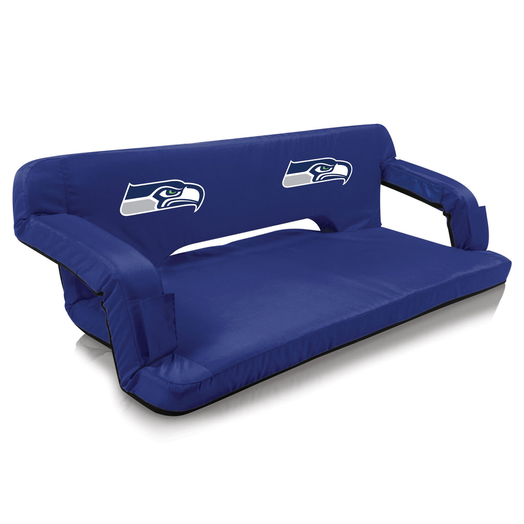 Seattle Seahawks Reflex Portable Travel Couch by Picnic Time