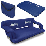 Seattle Portable Couch - Picnic Times Seahawks Reflex Tailgate
