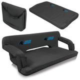 Carolina Portable Couch - Picnic Times Panthers Reflex Tailgate