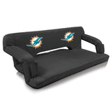 Miami Dolphins Reflex Portable Travel Couch by Picnic Time