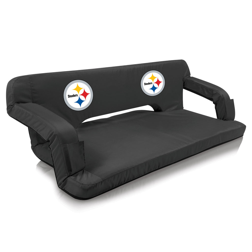 Pittsburgh Steelers Reflex Portable Travel Couch by Picnic Time