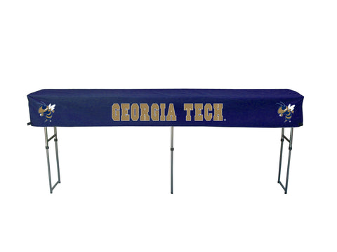 Georgia Tech Yellow Jackets Canopy Table Cover Tailgater portable folding tables