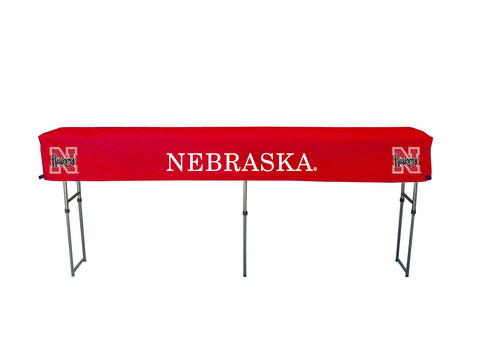 University of Nebraska Huskers Canopy Table Cover Tailgater portable folding tables