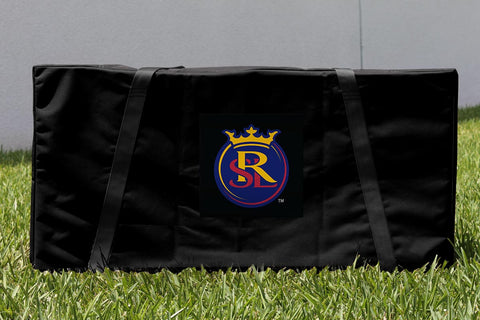 Real Salt Lake RSL Royals Cornhole Carrying Case Victory Tailgate 25206