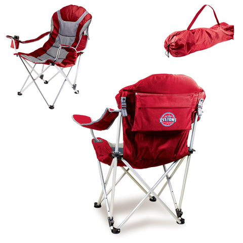 Detroit Pistons Reclining Camp Chair by Picnic Time