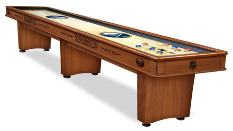 Buffalo Sabres 12' Shuffleboard Table
