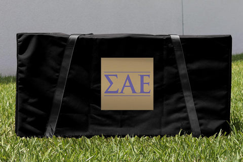 Sigma Alpha Epsilon Cornhole Carrying Case Victory Tailgate 31563