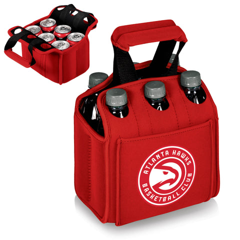 Atlanta Hawks Six Pack Cooler by Picnic Time