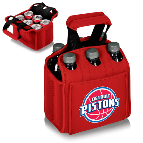 Detroit Pistons Six Pack Cooler by Picnic Time