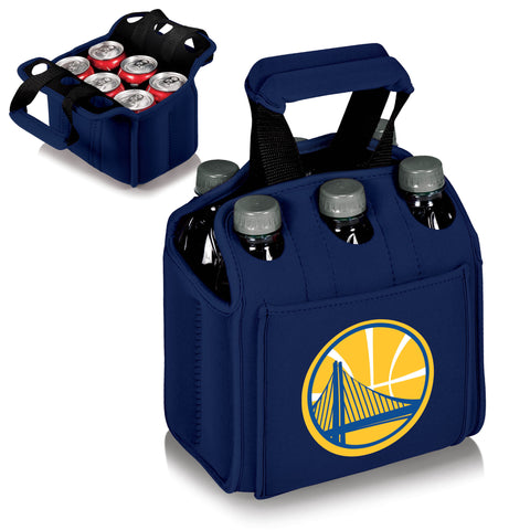 Golden State Warriors Six Pack Cooler by Picnic Time