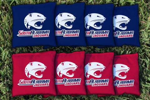 South Alabama Jaguars Cornhole All Weather Bags Victory Tailgate 9213