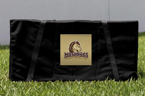 Southwest Minnesota SMSU Mustangs Cornhole Carrying Case Victory Tailgate 32183