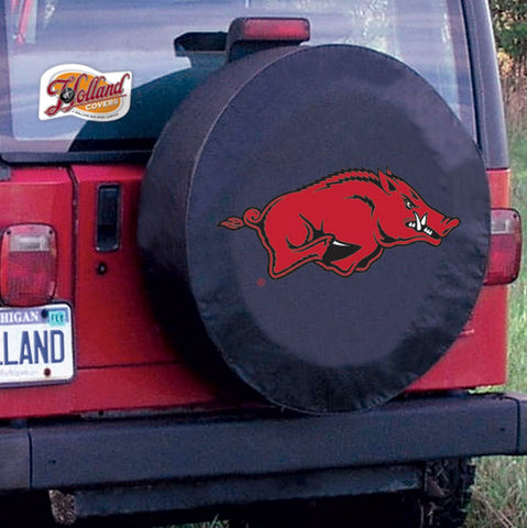 University of Arkansas Razorbacks Tire Cover by Holland Covers