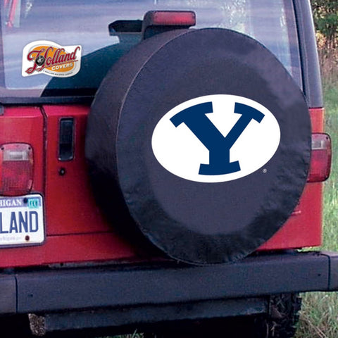 Brigham Young Cougars Tire Cover by Holland Covers