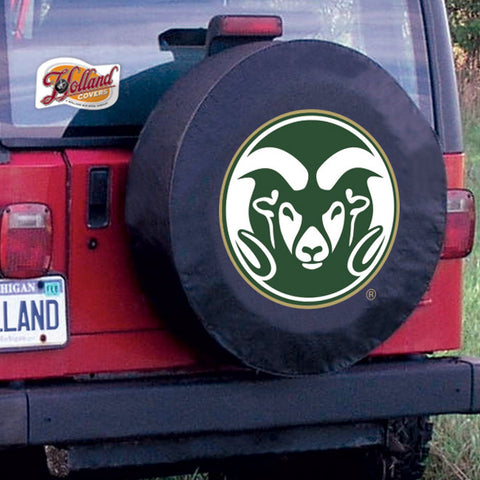 Colorado State Rams Tire Cover by Holland Covers